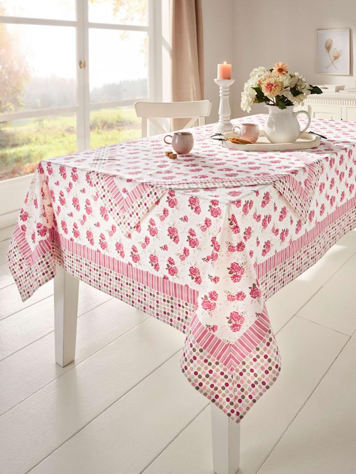 Webschatz Linge de table 'Elin', Multicolore