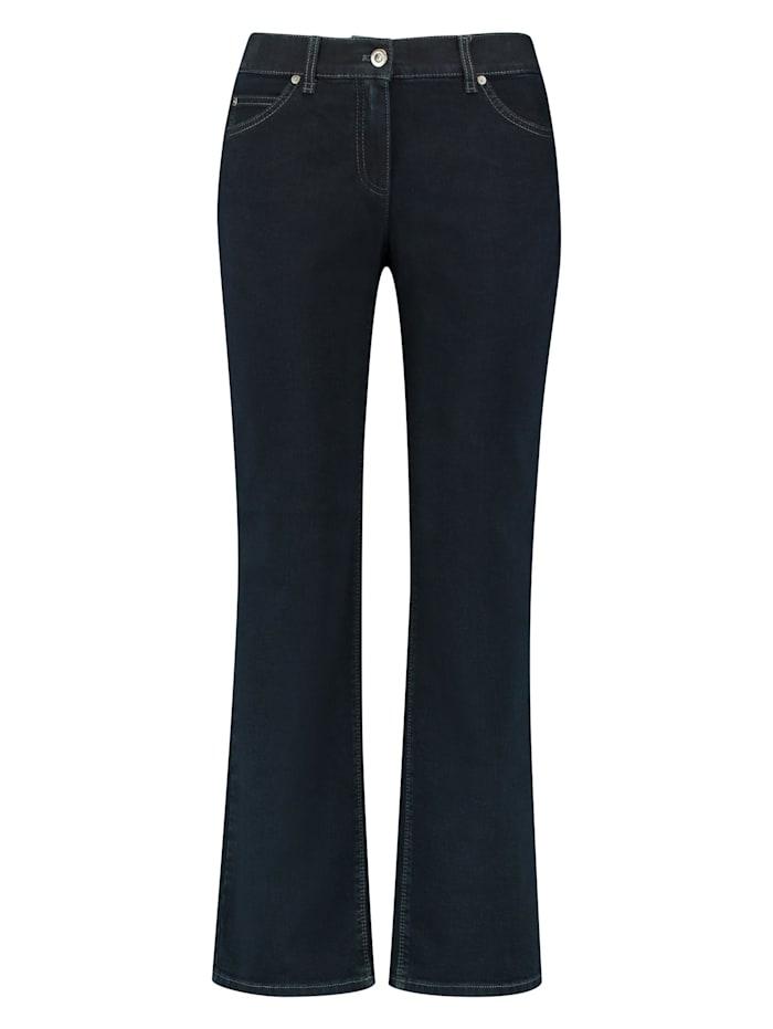 Gerry Weber 5-Pocket Hose Comfort Fit Kurzgröße, Dark Blue Denim