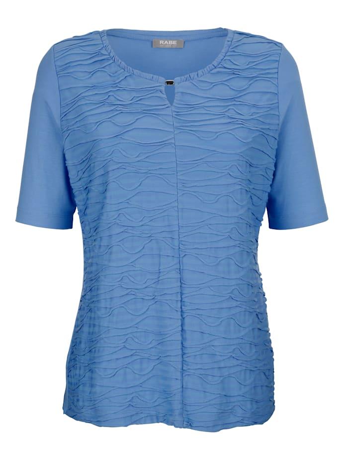 Shirt mit modischer Biesenstruktur