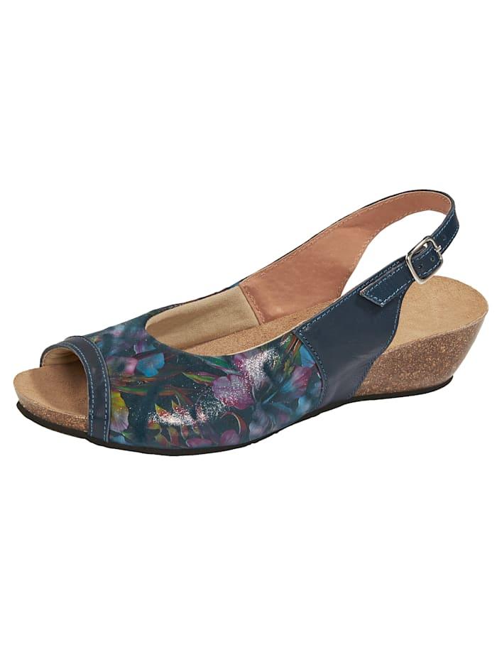 BioStep Sandaaltje met gesp, Blauw