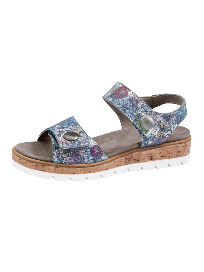 Naturläufer Sandals, Blue