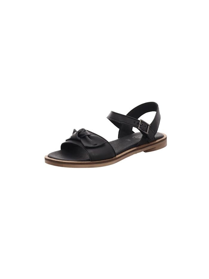 camel active Sandalen/Sandaletten, schwarz