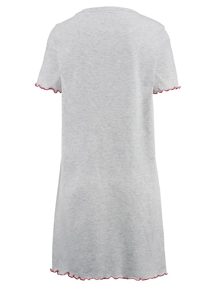Nočná košeľa s pekným vzorom potlače 3 kusy