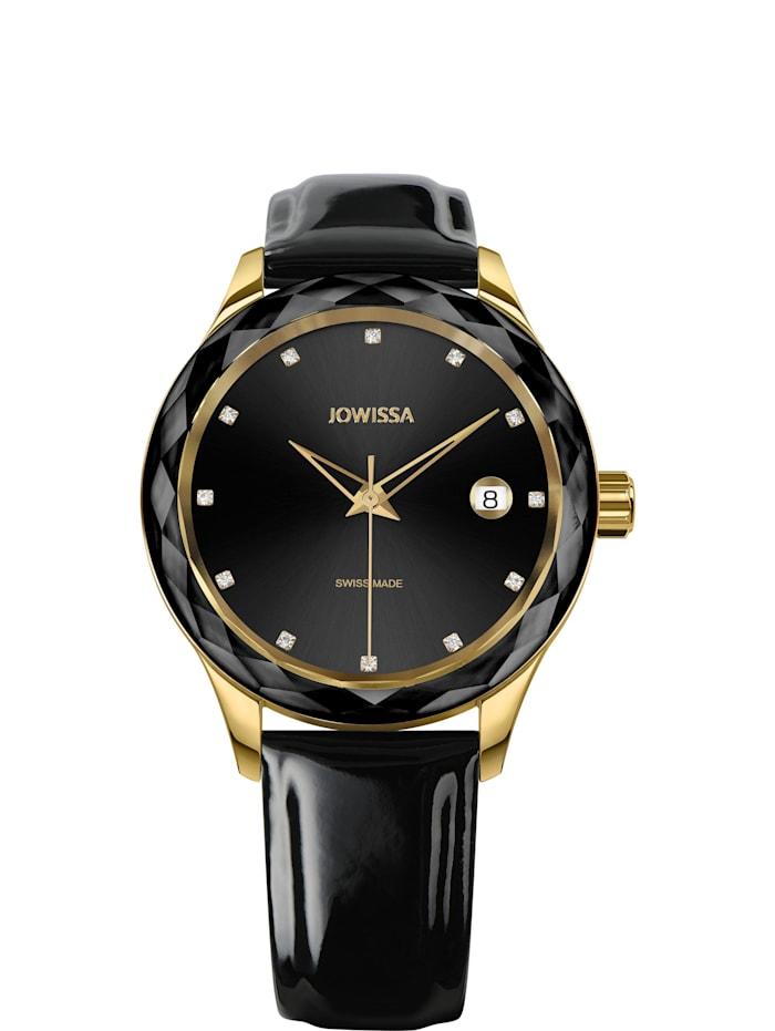 Jowissa Quarzuhr Tiro Swiss Ladies Watch, schwarz