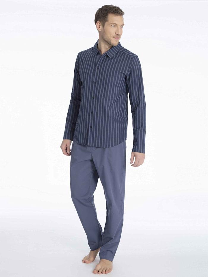 Web-Pyjama durchgeknöpft