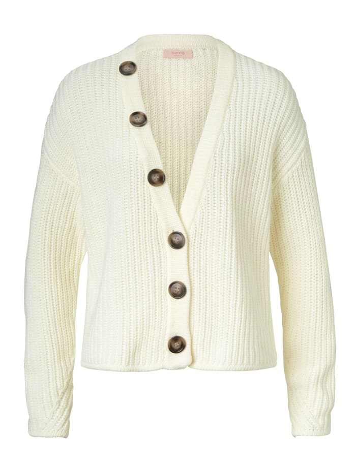 SIENNA Cardigan, Off-white