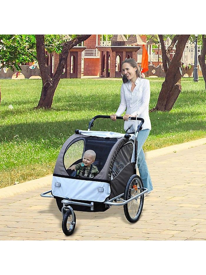 Kinderanhänger 2 in 1 – Fahrradanhänger und Jogger