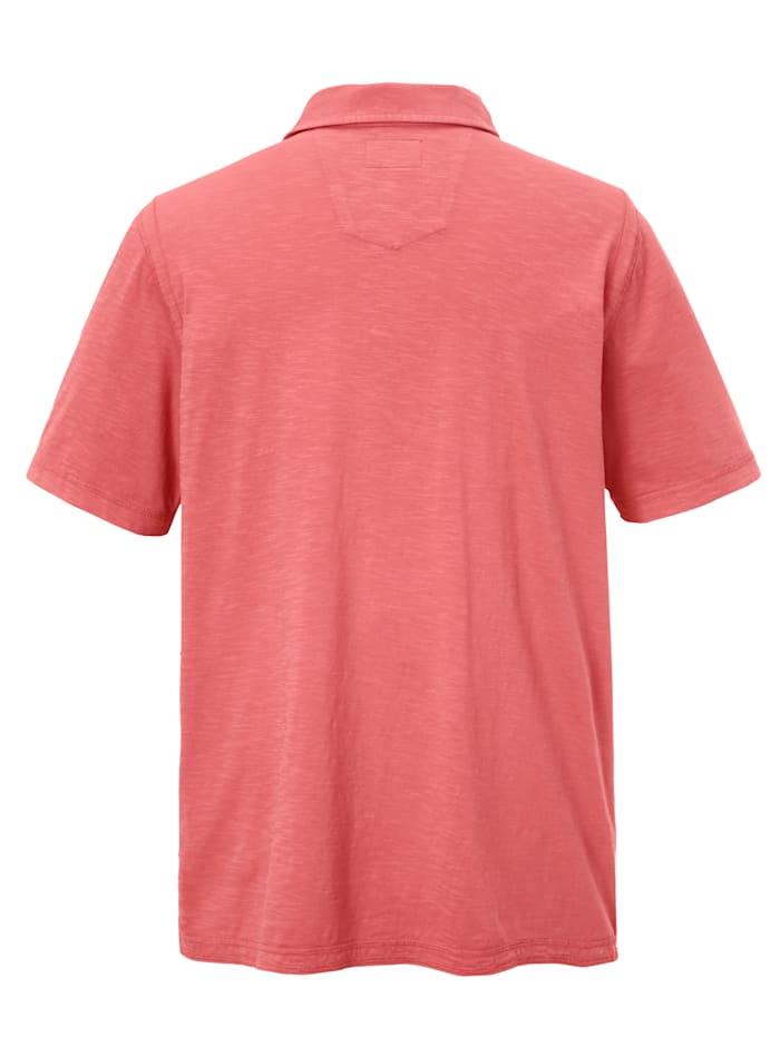 Poloshirt met charmant streepdessin