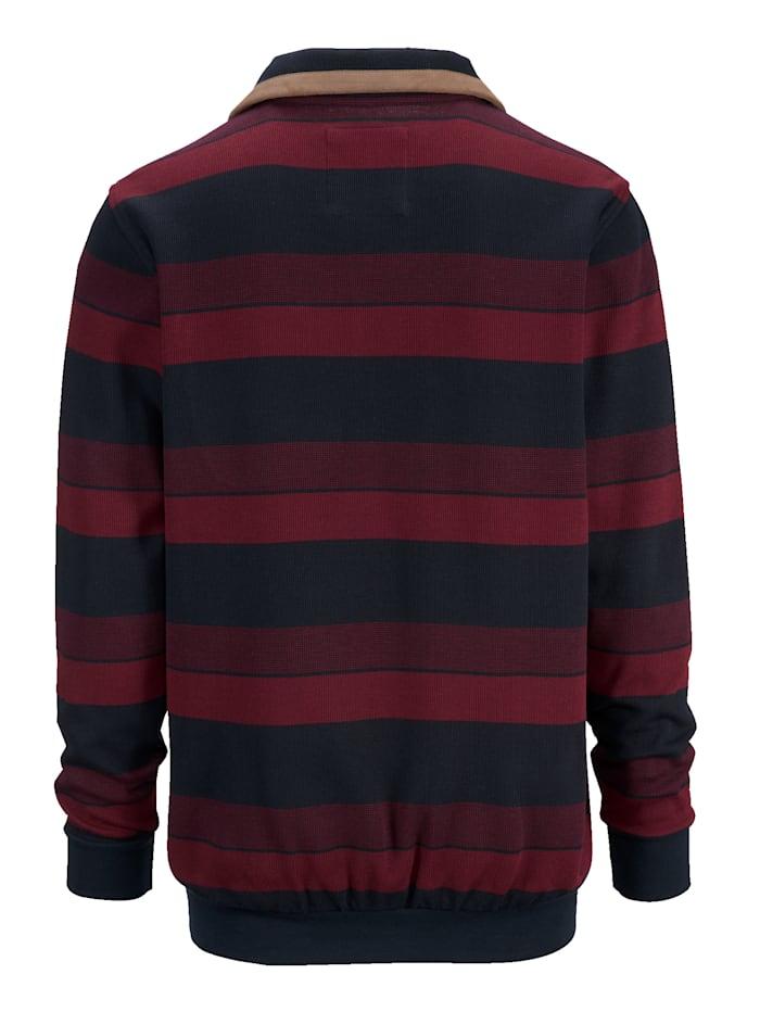 Randig sweatshirt