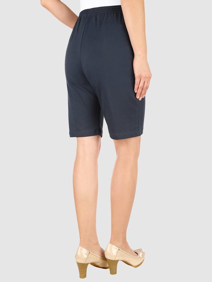 Mjuka shorts med midjeresår