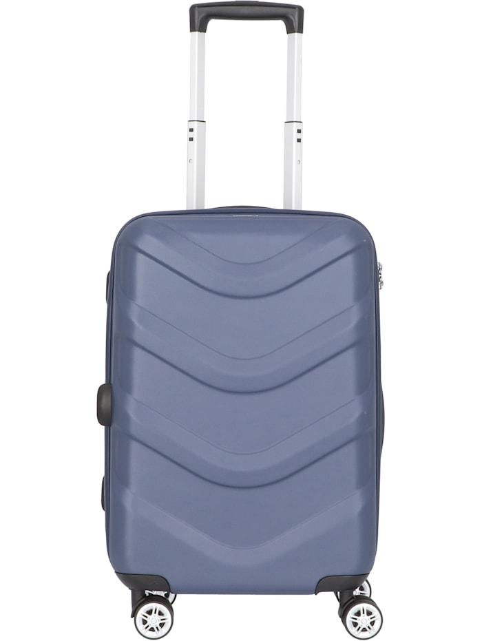 Stratic Arrow 2 4-Rollen Kabinentrolley 55 cm, blue