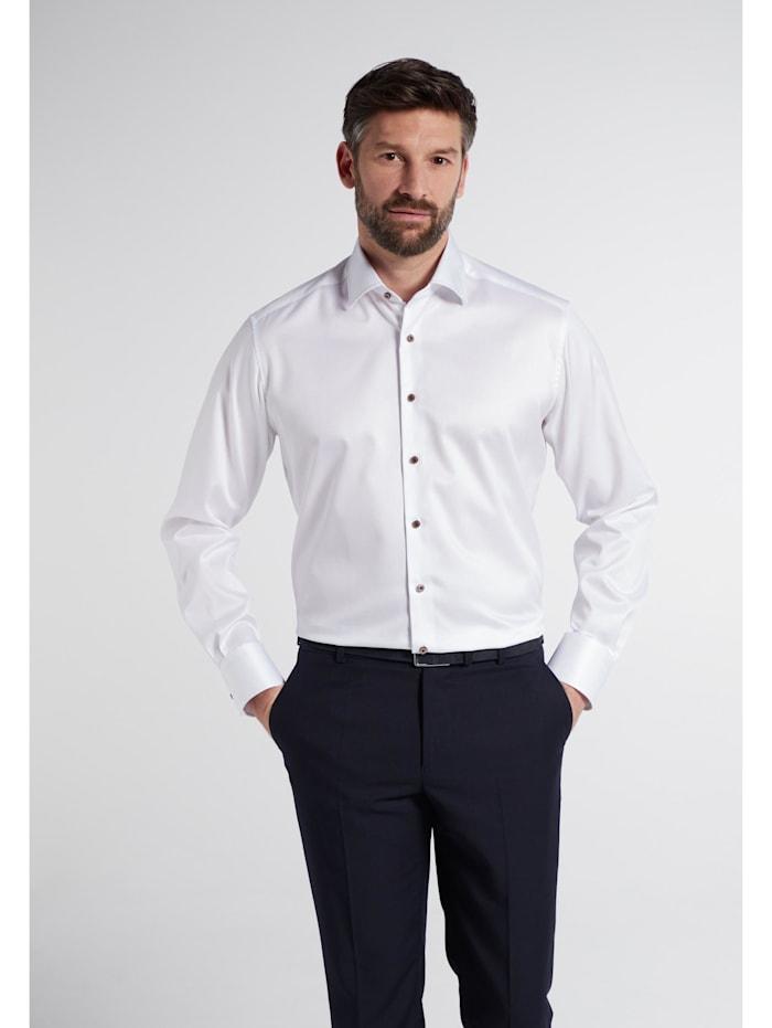 Eterna Eterna Langarm Hemd COMFORT FIT, weiss