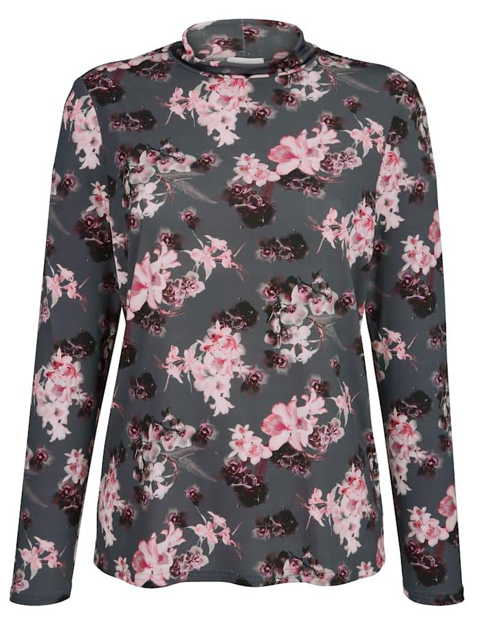Shirt mit Floraldessin