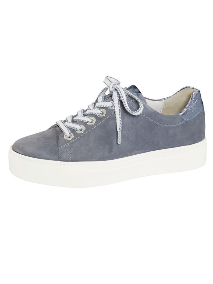 Semler Sneakers à plateau tendance, Bleu ciel