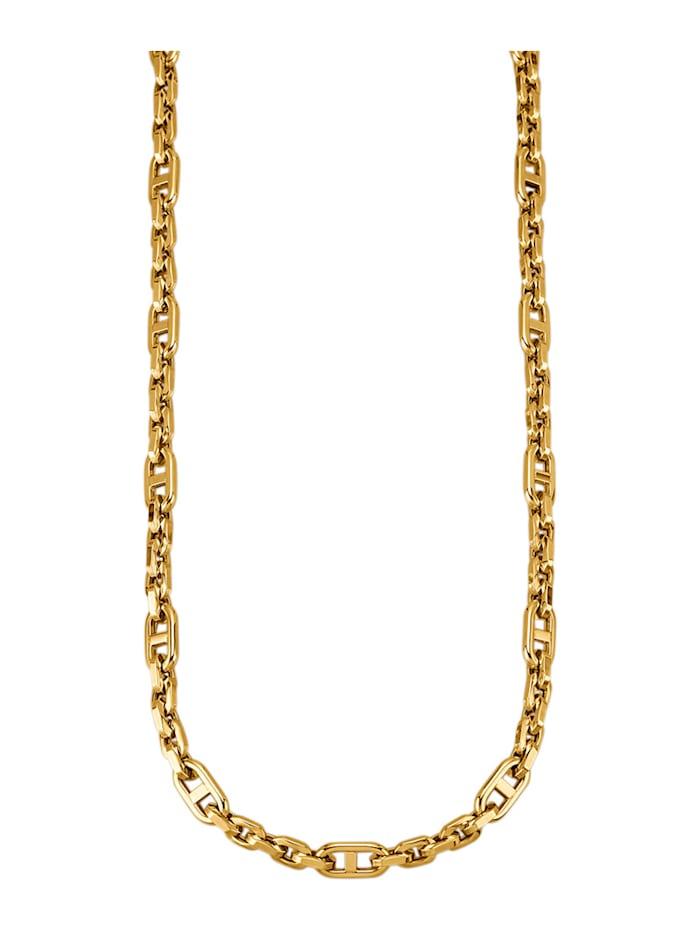 Diemer Gold Ankerkette in Gelbgold 585, Gelbgoldfarben