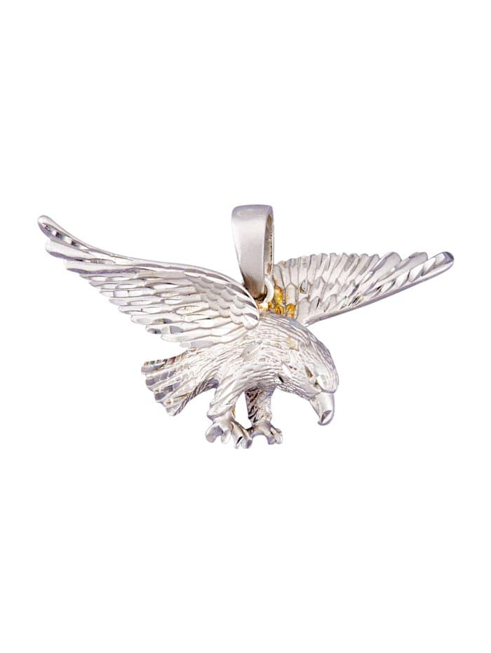 Adler-Anhänger in Silber 925, Silberfarben