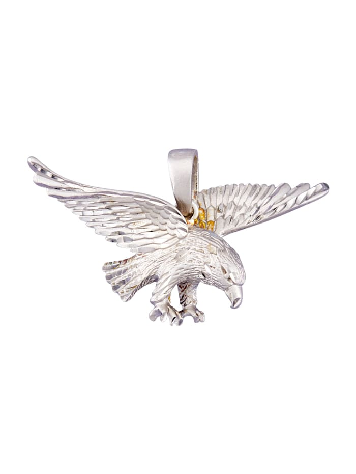 Hänge – örn i silver 925, Silverfärgad