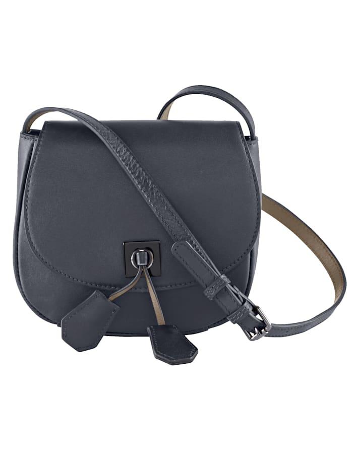 Shoulder bag made of soft nappa leather