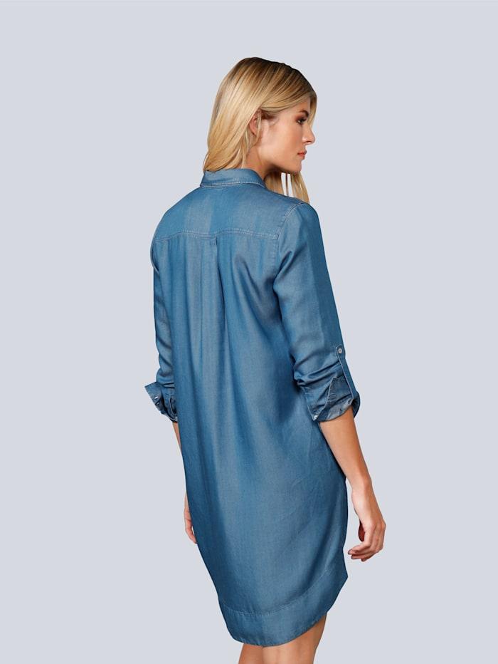 Kleid in Tencelware
