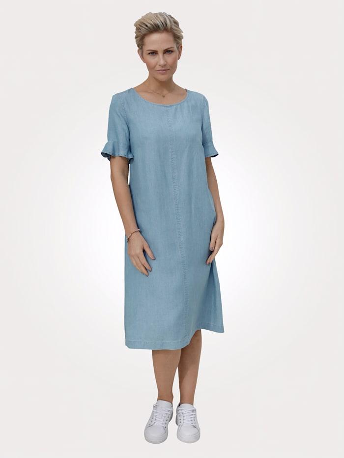 MONA Kleid aus Lyocell, Hellblau