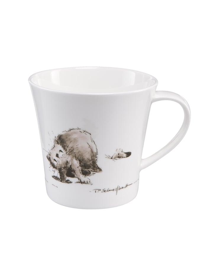 "Goebel Goebel Coffee-/Tea Mug Peter Schnellhardt - ""Katzenjammer"", Katzenjammer"