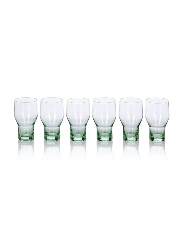 IMPRESSIONEN living Wasserglas-Set, 6-tlg., grün