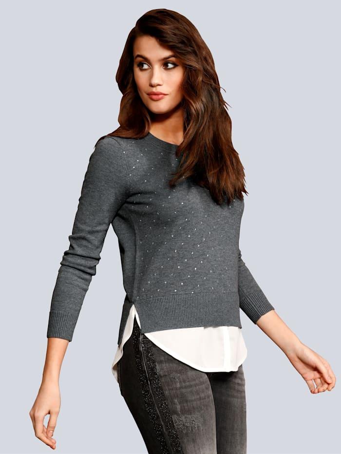 Pullover in Layer Optik