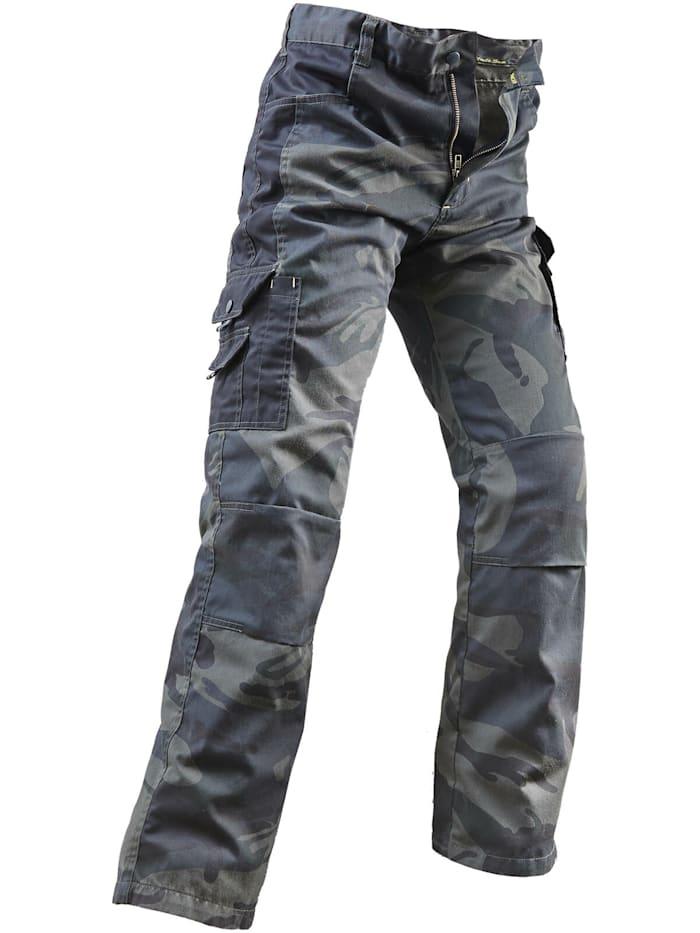 Bekleidung Bundhose oliv camouflage/schwarz