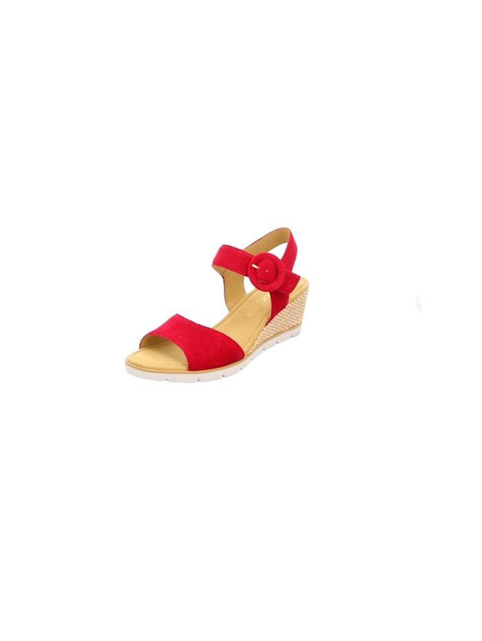 Gabor Sandale Sandale, mittel-rot
