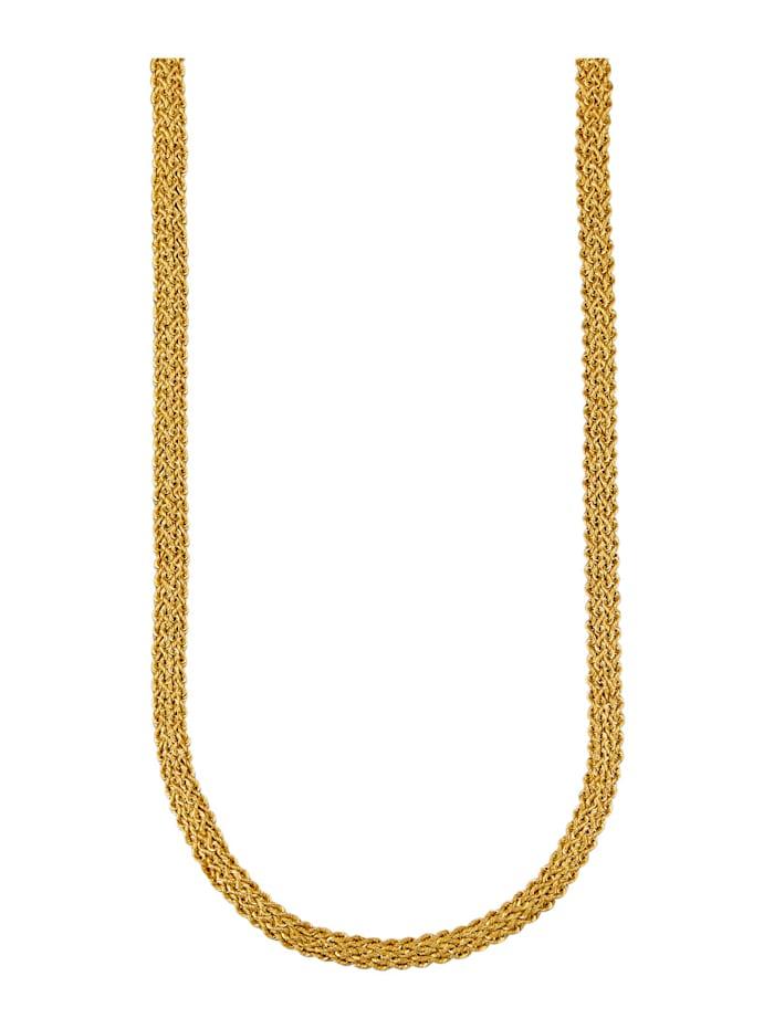Kordelcollier in Gelbgold 375, Gelbgoldfarben