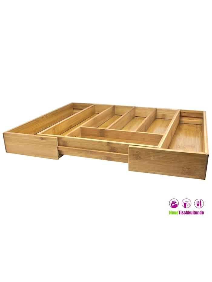 Besteckaufbewahrungsbox Bambus