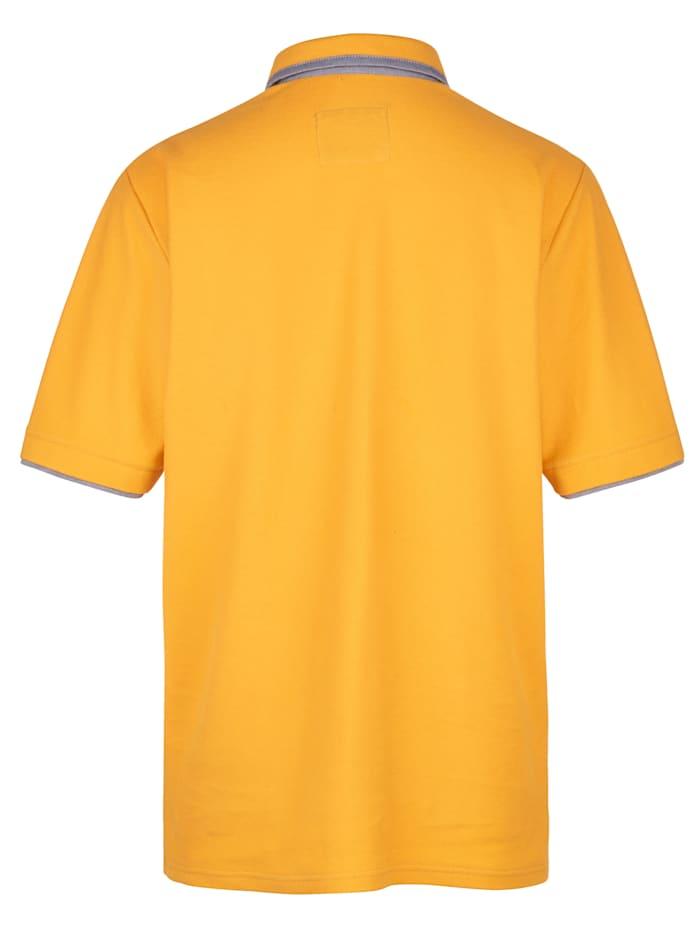 Poloshirt mit feiner Struktur