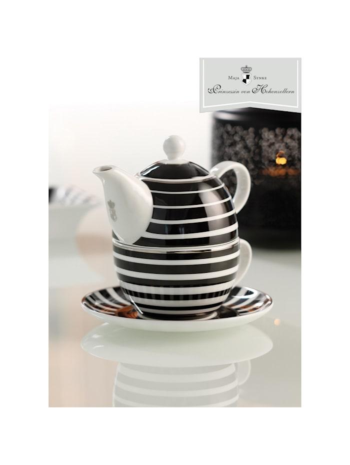 "Goebel Tea for One Maja von Hohenzollern - Design ""Stripes"""