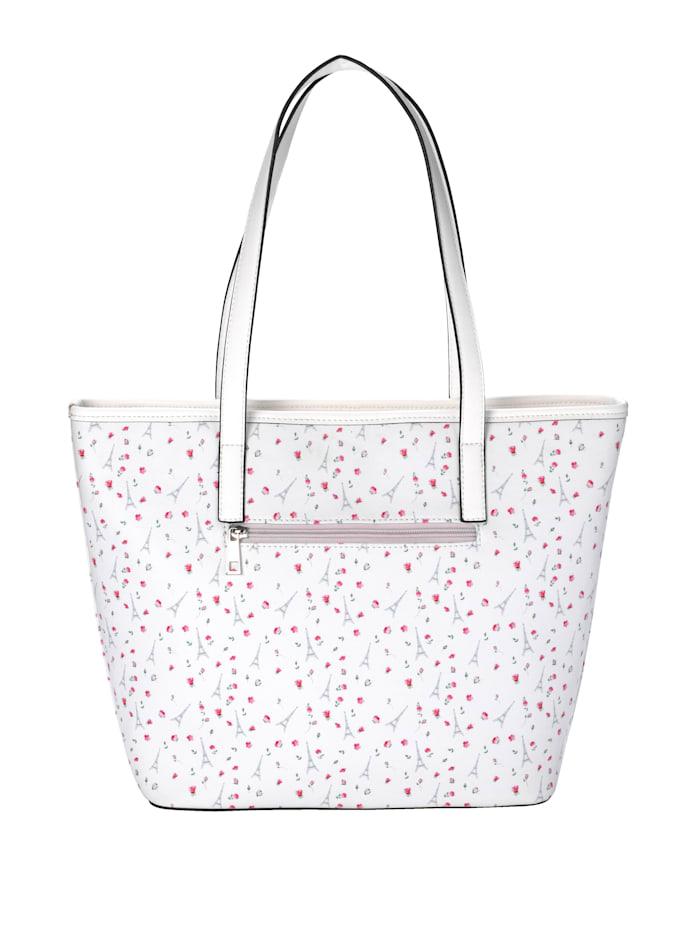 Väska med liten, avtagbar sminkväska 2 delar