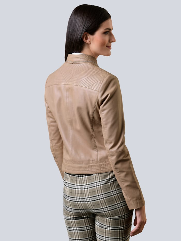 Lederjacke aus softem Lammnappa