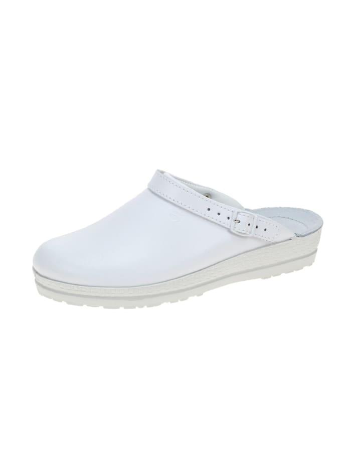 Rohde Damen Pantolette in weiß, weiß