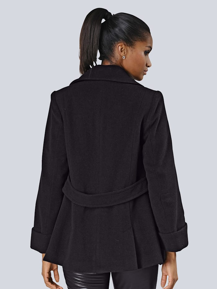 Jacke in softer Qualität