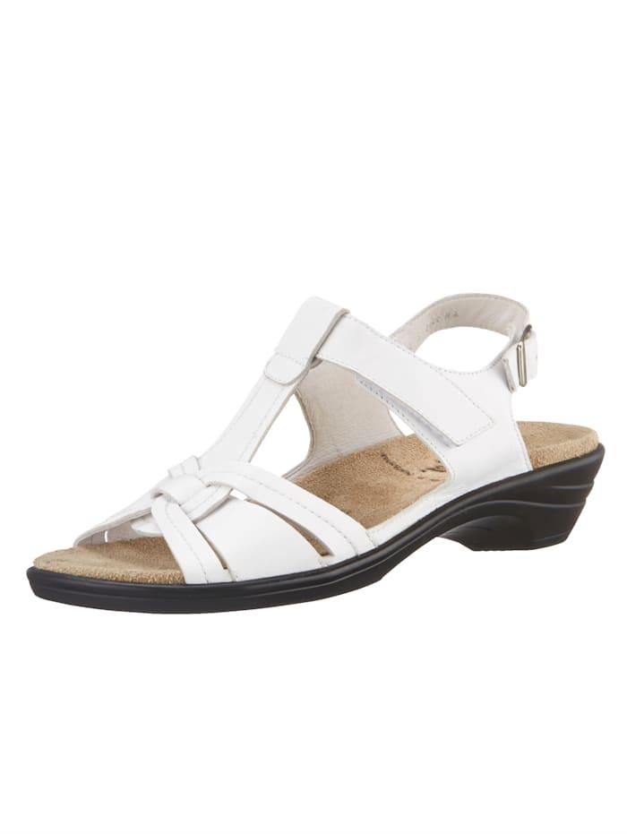 Semler Sandalette, Weiß