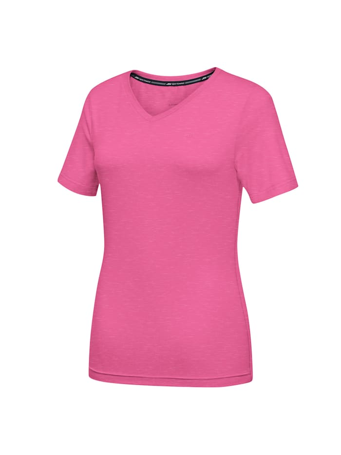 JOY sportswear T-Shirt ZAMIRA, fuchsia pink melange