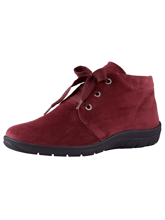 Lace-up Ankle boots made of soft leather