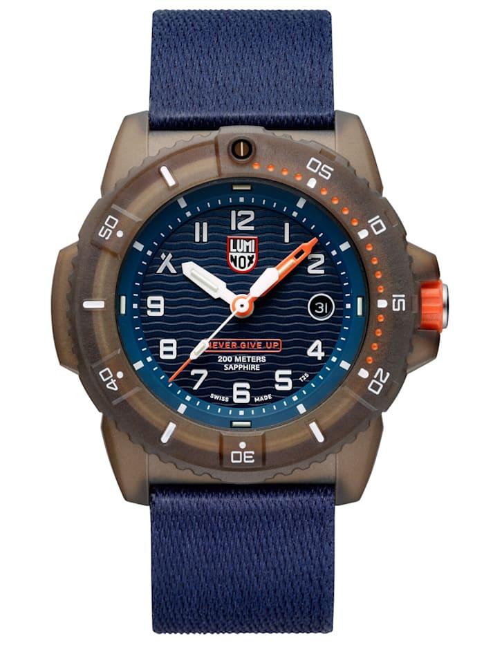 Luminox Herren-Taucheruhr Bear Grylls Survival ECO Limited Edition, Blau