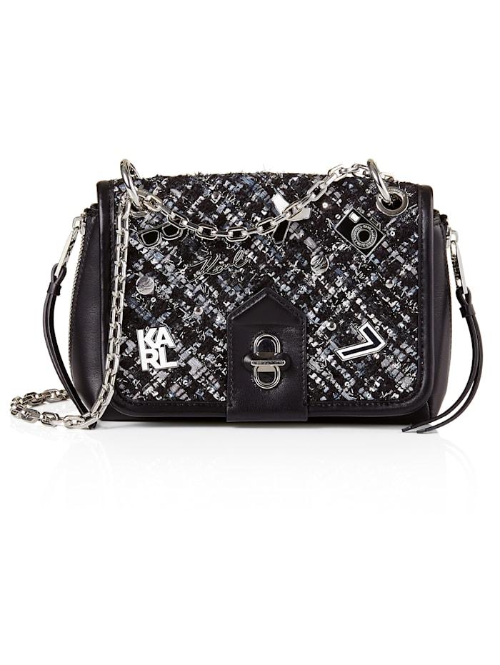 Karl Lagerfeld Crossbody-Bag, schwarz