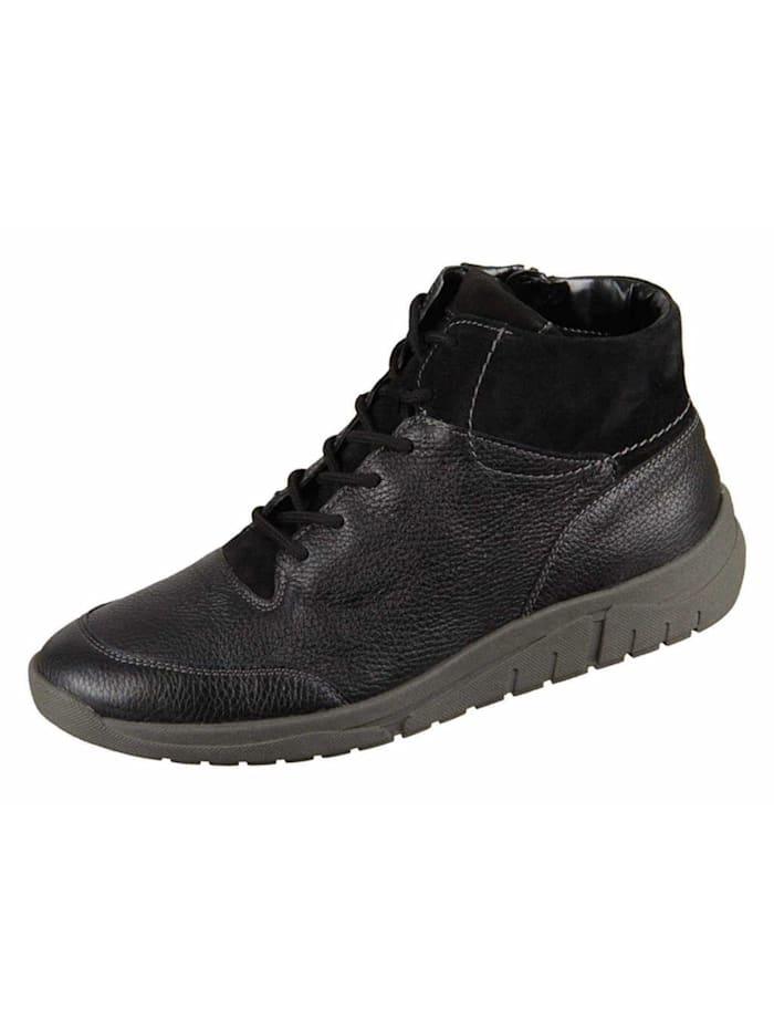Waldläufer Stiefel, schwarz