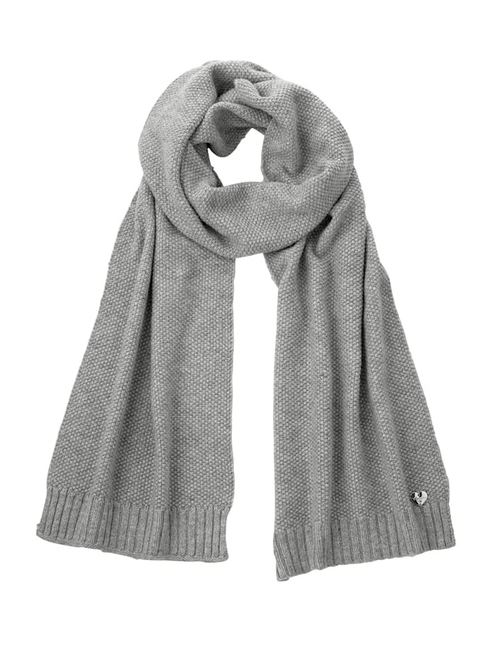 Sjaal van stijlvol materiaal