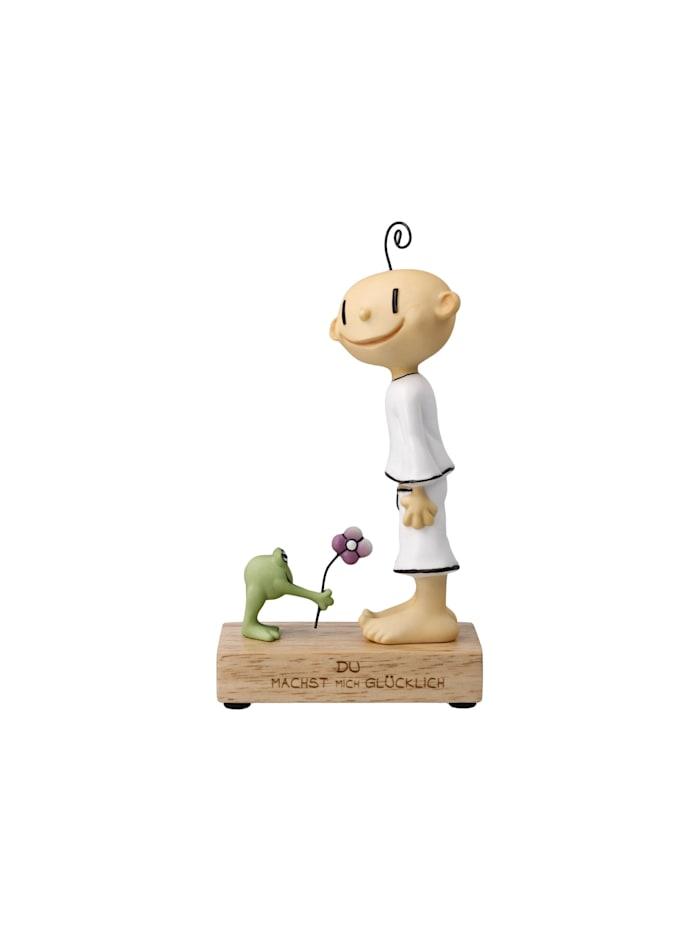 """Goebel Figur Der kleine Yogi - """"Du machst mich glücklich"""", bunt"""