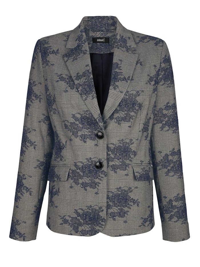 Blazer Houndstoothcheck fabric