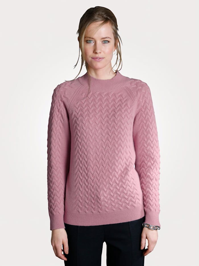 Jumper in pure cashmere