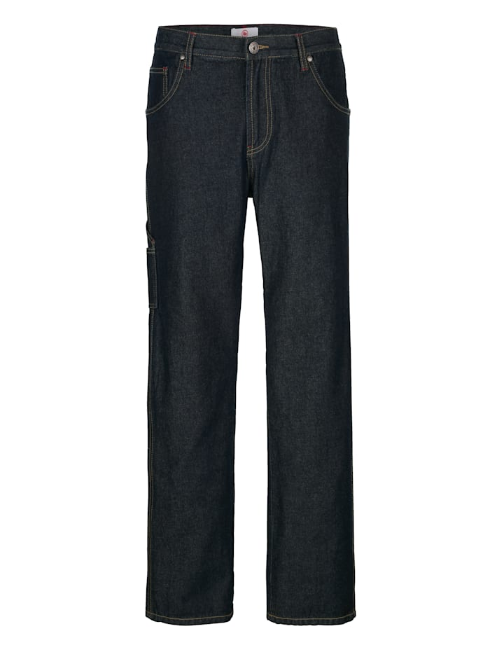 Boston Park Jeans in 5-pocketmodel, Dark blue