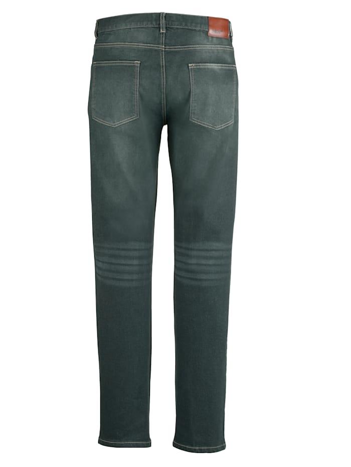 Jeans mit Gallonstreifen
