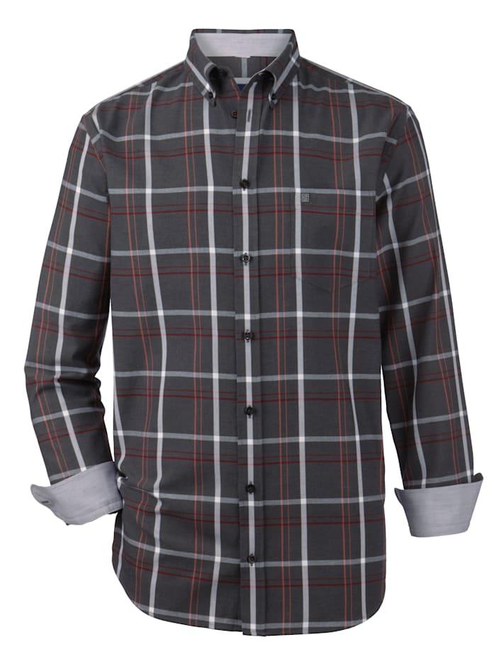 BABISTA Overhemd van superzacht materiaal, Antraciet